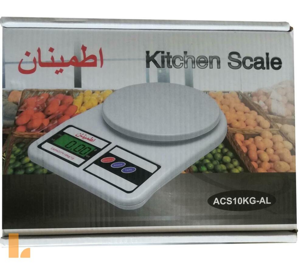 ترازو آشپزخانه اطمینان مدل ACS-AL