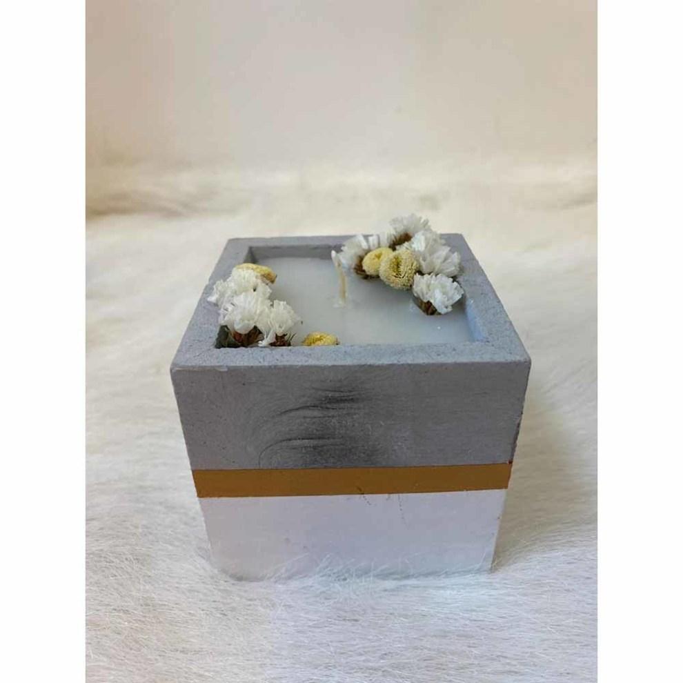 شمع مربعی کوچک مدل 5