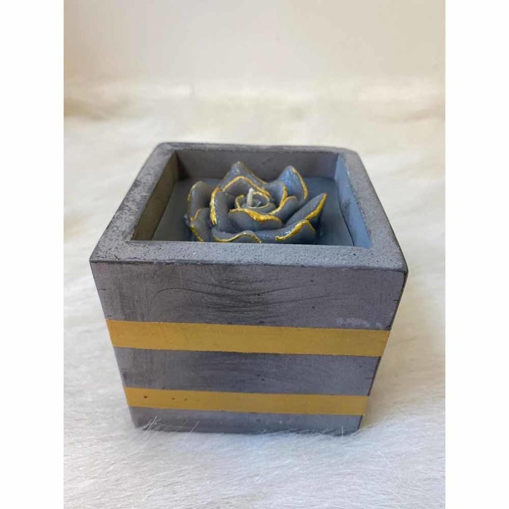 شمع مربعی کوچک مدل 7