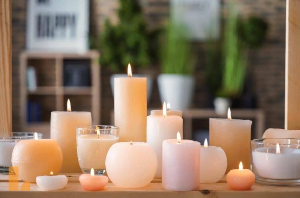 انواع شمع برای دکوراسیون