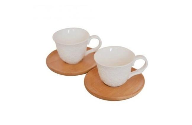 ست 2 عددی فنجان و نعلبکی بامبوم bambum B2778