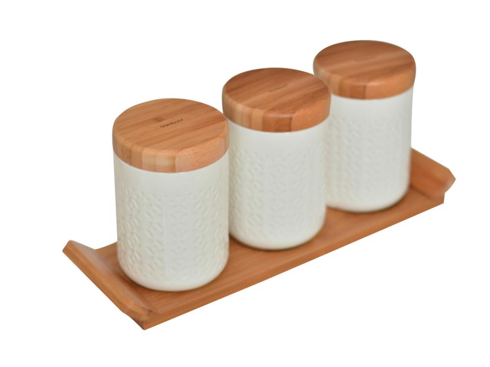 ست 4 پارچه سراميک بنشن بامبوم bambum B2678