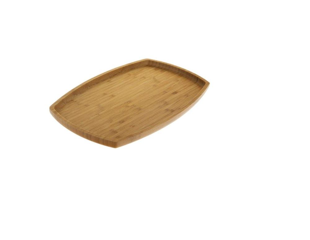 دیس بیضی بامبو بیویکی سایز 31*20 سانتیمتر VK917031