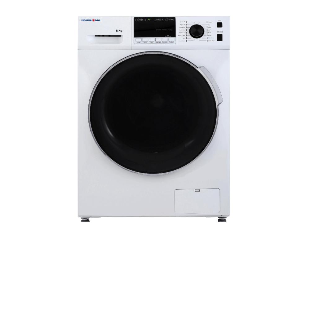 ماشین لباسشویی ۸ کیلویی پاکشوما مدل TFU-84401 WT