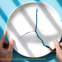 آموزش جامع تعمیر ظروف چینی شکسته یا ترک برداشته