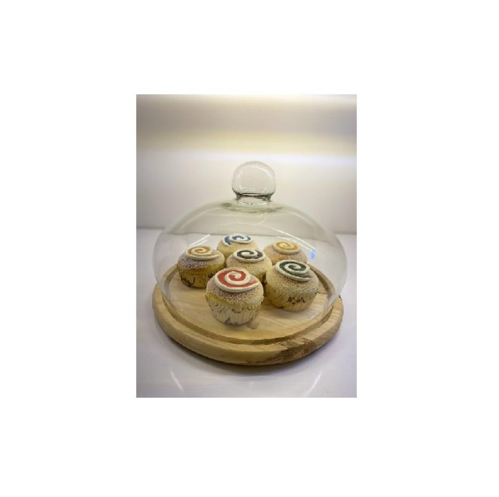 ظرف کیک بدون پایه 28 سانتی متر