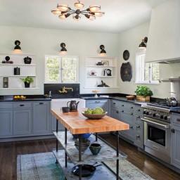 آشپزخانهای به سبک مدیترانهای