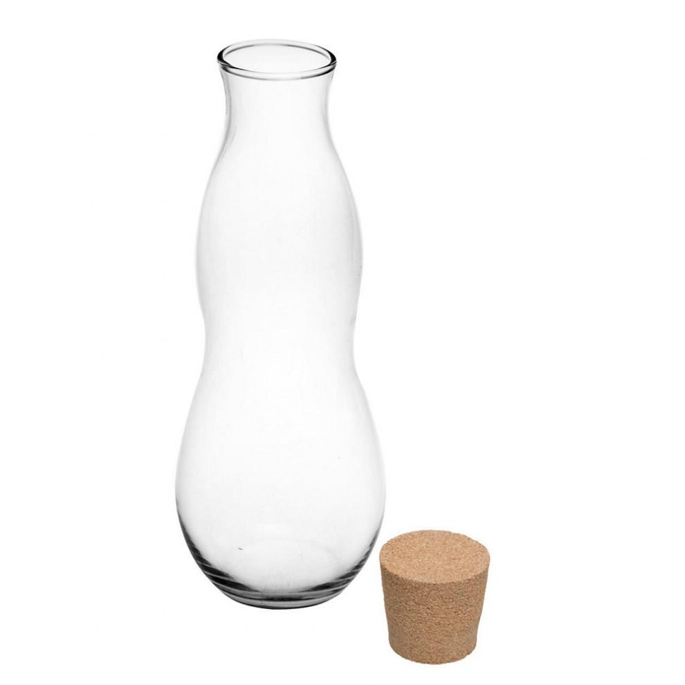 بطری شیشه ایی کمر باریک بزرگ 38525