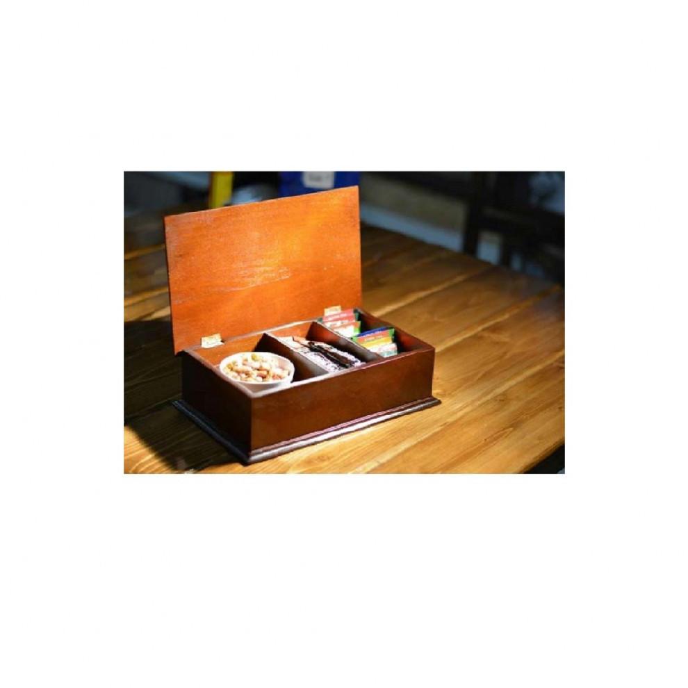 جعبه پذیرایی چوبی 708B