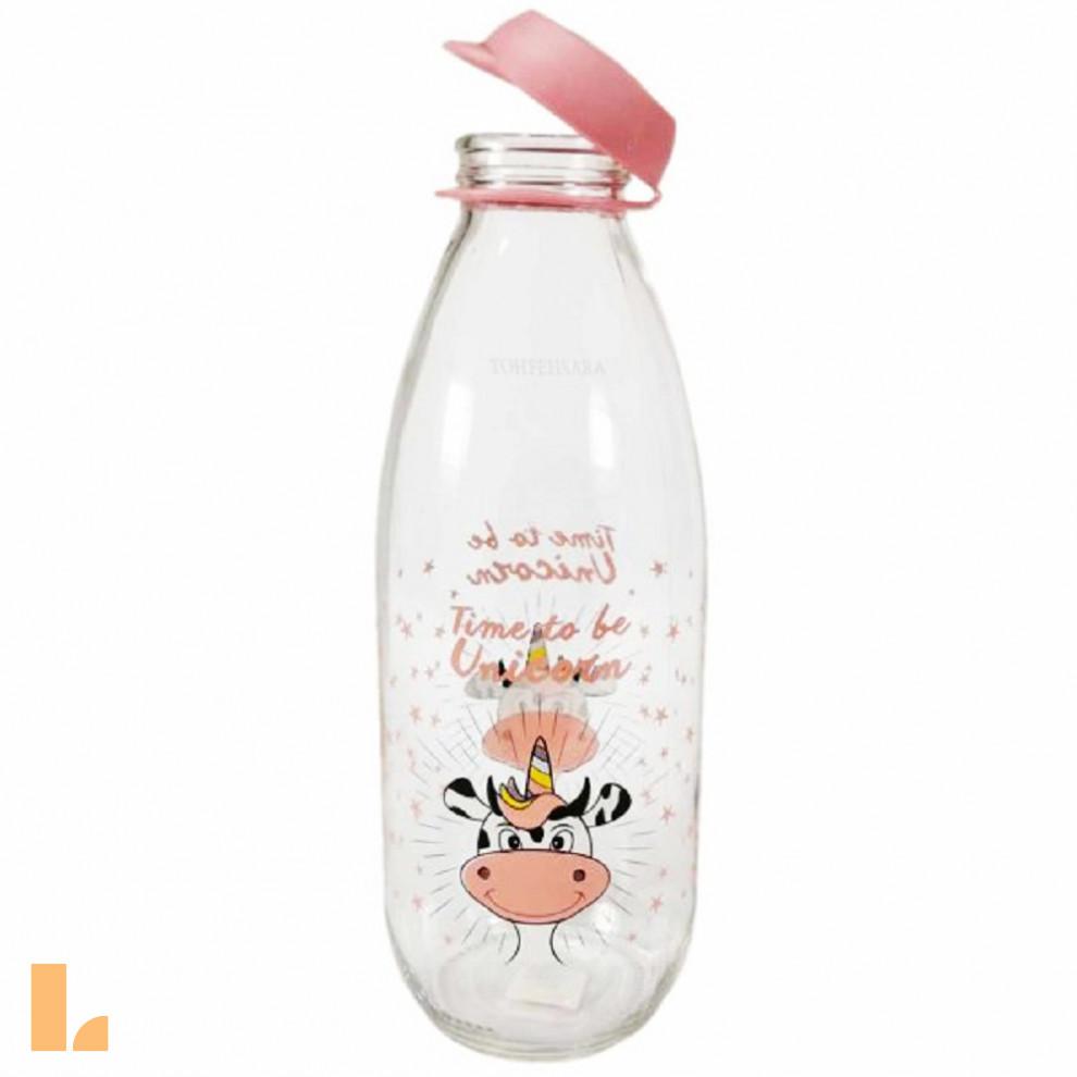 بطری شیر طرح دار 803