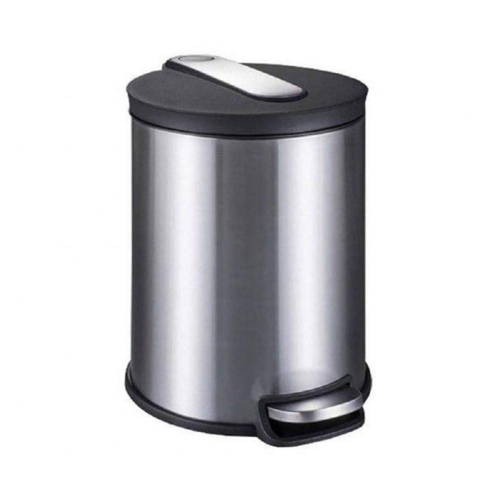 سطل زباله ۱۶ لیتر استیل یونیک
