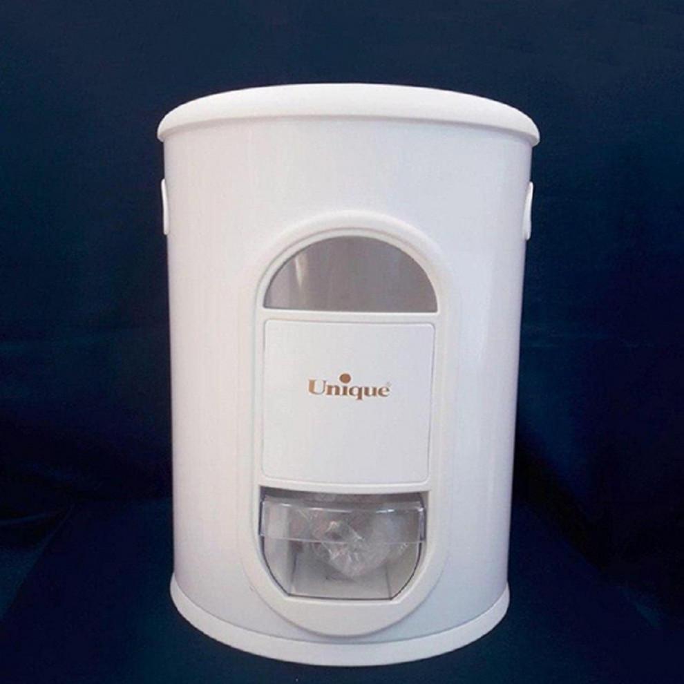 سطل برنج پیمانه دار 10 کیلویی سفید یونیک