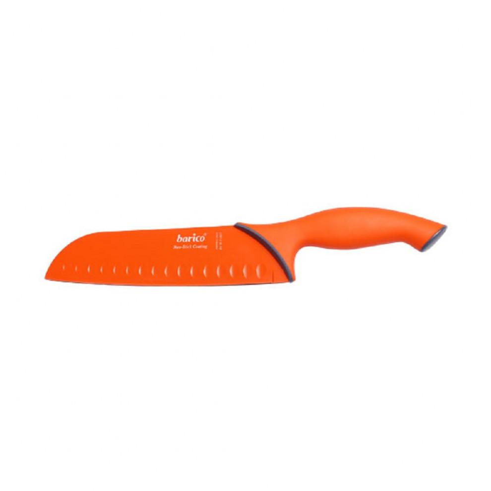 کارد سانتوکو نارنجی 18 سانتیمتر باریکو کد BA1825