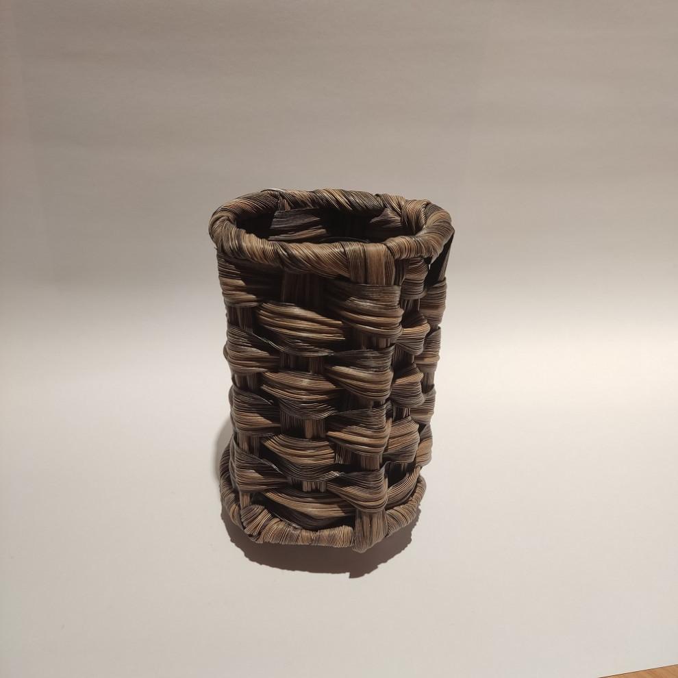 جاقاشقی استوانهای pvc قهوهای تیره